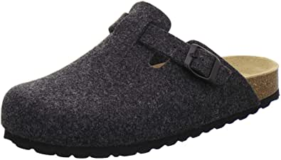 AFS Pantofole da Uomo Chiuse in Feltro, comode, Calde Scarpe Invernali, Made in Germany, 36900