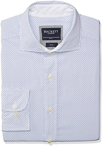 Hackett London -  Camicia Casual  - Maniche lunghe  - Uomo Multicolore multicolore M