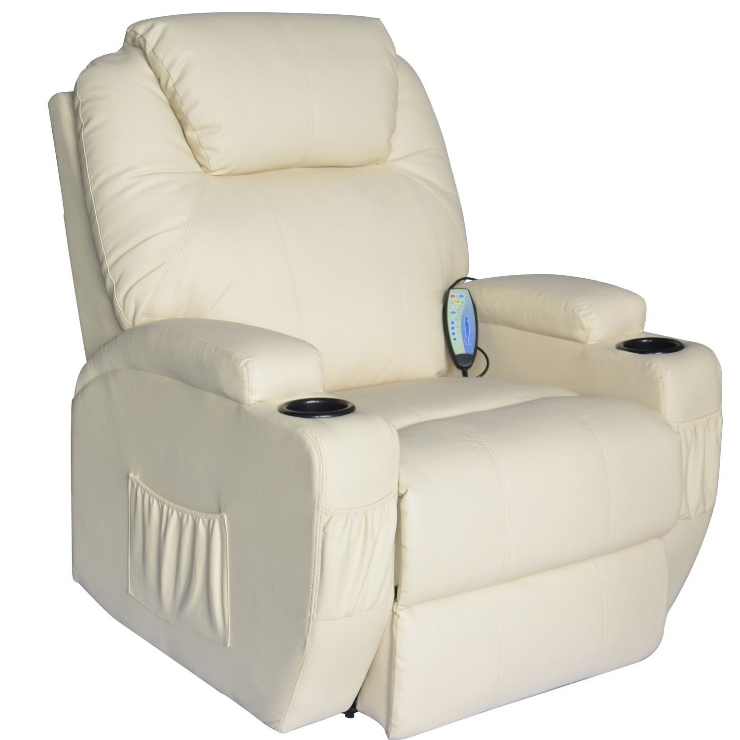 Cavendish electric recliner chair with heat massage choice of