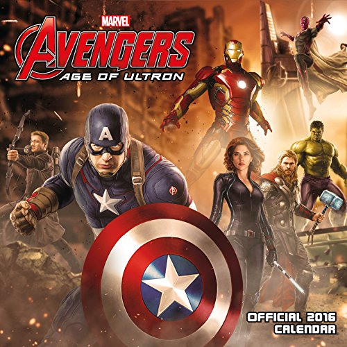 Official Avengers Age of Ultron 2016 Square Wall Calendar (Marvel)