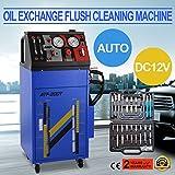 Autovictoria Hidrolimpiadora Eléctrica DC 12V Fluid Flush Máquina Dirección de Flujo 0 ~ 60 PSI Transmisión Controlada Automáticamente Para Motor de Gasolina Pequeño y Vehículo Diesel