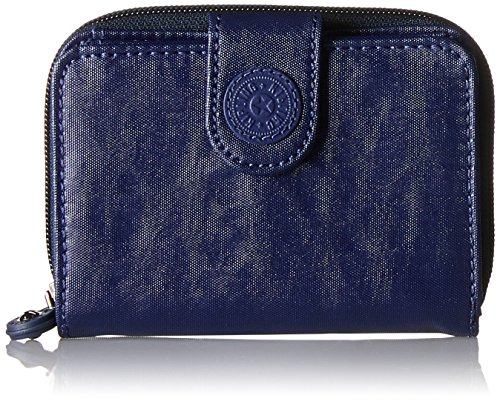 Kipling New Money, Portafogli Donna, One Size Blu (Lacquer Indigo)