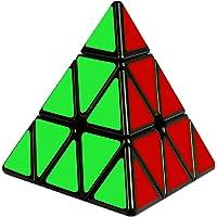 Cooja Pyraminx Cube Triangle Cube, Puzzle Pyramide Cube Magique 3x3 Autocollant Cube Jeux Pyramide
