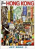 Poster 70 x 100 cm: Hong Kong - Jet BOAC von Travel