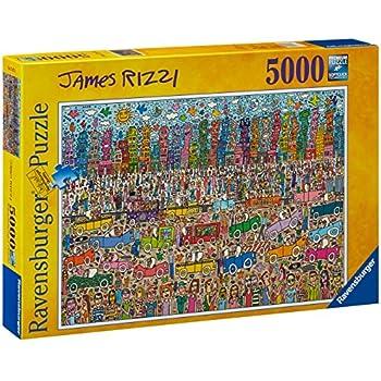 ravensburger james rizzi puzzle 5000 pieces. Black Bedroom Furniture Sets. Home Design Ideas