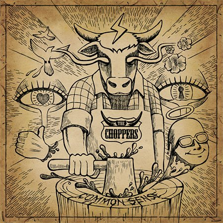 Kpop CD, The Choppers - Common Sense[002kr] (Chopper Koreanische)
