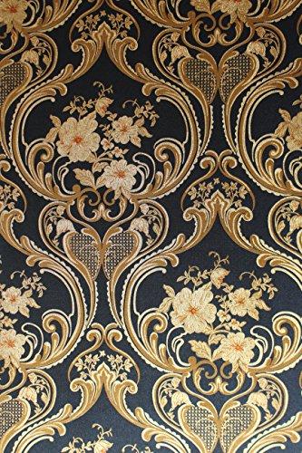 vinyl-tapete-barock-retro-blau-gold-kupfer-fujia-decoration-22623