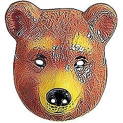 Oso de máscaras de animales para niños