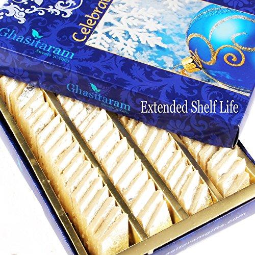 Ghasitaram Gifts Diwali Gifts Diwali Sweets – Pure Kaju Katlis Box