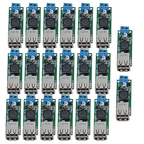 Cnbtr 5V 3A Double sortie USB DC convertisseur et Step Down Converter module d'alimentation Tension Step-Down module, multicolore, CNBTR320