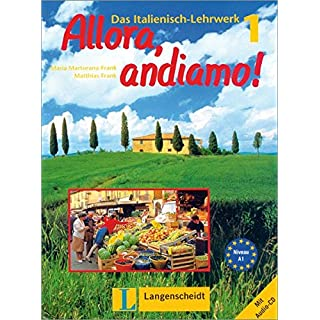 Allora, andiamo!, Bd.1, Lehrbuch und Arbeitsbuch