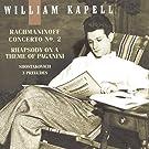 Rachmaninoff: Piano Concerto No. 2; Rhapsody on a Theme of Paganini / Shostakovich: 3 Preludes (William Kapell Edition Vol.3) (2004-10-05)