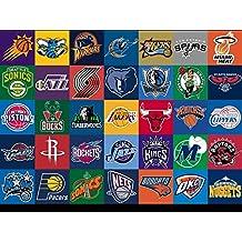 La Sortie du musée des Diagrammes d'– SL NBA Logos–A3Poster