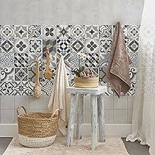 Carrelage adhesif mural salle de bain - Plaque imitation carrelage salle de bain ...