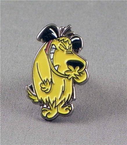 Metal Enamel Pin Badge Brooch Mutley (Wacky Races Dick Dastardly Dog)