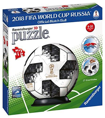 (Ravensburger–Puzzle 3D Adidas Weltmeisterschaft Fußball-201872teilig, 11751)