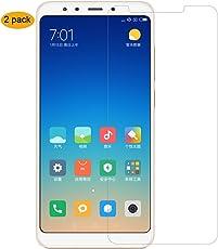 [2Pezzi] Vetro Temperato Xiaomi Redmi 5 Plus,THILIVE Pellicola Vetro Temperato Per Xiaomi Redmi 5 Plus HD 9H Durezza Bordi Arrotondati da 2.5D, Facile da installare-trasparente