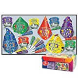 Beistle 88060-nr Jamboree party Favors, 1 Assortment per Package