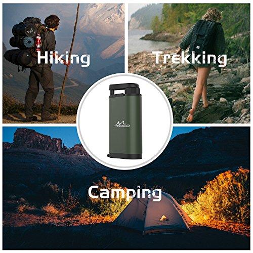 MoKo Wasserfilter Outdoor – Portable Notfall-Personal Camping - 8