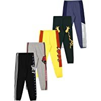 Cloth Theory Unisex-Child Track Pants (Pack of 5) Relaxed