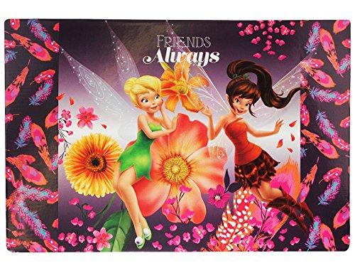 e Disney Fairies Tinkerbell Fairy 60 cm * 40 cm - PVC Unterlage / Knetunterlage / Schreibunterlage / Tischunterlage Fee Elfen Schmetterlin ()