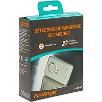 Fireangel CO-9B-FRT Détecteur de monoxyde de Carbone, capteur CO électrochimique avancé 7 Ans, Piles remplaçables…