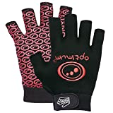 Optimum Men's Skit Mits Rugby Gloves - Red, Large [ Hand Circumference : 9-10 inches]