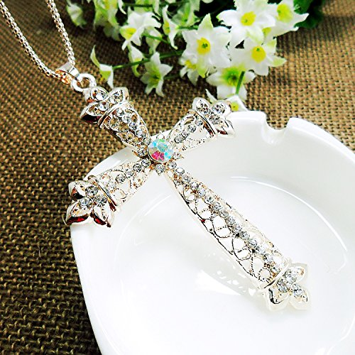 manchester-case-golden-corn-chain-link-rhinestones-studded-cross-pendent-necklace-for-sweater-decora