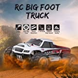 WLtoys A979-B 2.4G 1/18 RC Car 4WD 70KM/H High Speed Electric Full Proportional Big Foot Truck RC Crawler RTR RM8935