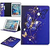 LMFULM® Case for Apple iPad 2018/2017 / Air/Air 2 (9.7 Inch) PU Leather