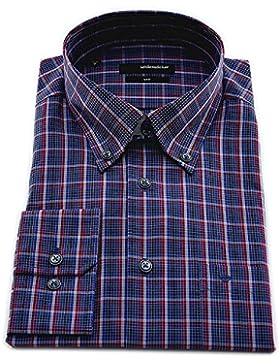 Seidensticker Herren Langarm Hemd UNO Regular Fit Button-Down-Kragen BD mehrfarbig kariert 131732.18