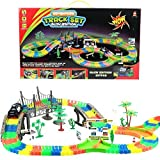 #2: Sajani Magic Track Rails with Eco-Friendly ABS Plastic Safe and Non-Toxic, not Harmful to Children- As Seen on TV (257PCS)