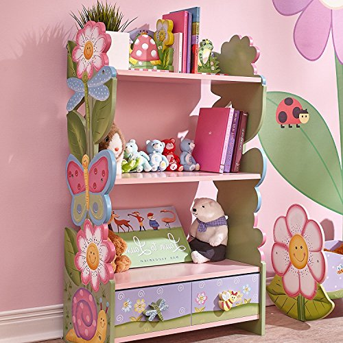 Kinderzimmer einrichten: Fantasy Fields Kinder Magic Garden Kids Holz-Bücherregal