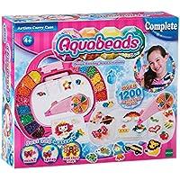 Aquabeads - Set di perline per bricolage con fissaggio ad acqua, con valigetta e accessori