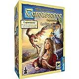 Giochi Uniti- Carcassonne, La Principessa e Il Drago Gioco, Multicolore, GU334/1
