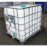 Plasteau - Cuve 1000 litres blanche sur palette