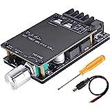 ZHITING Bluetooth Amplifier Board Module 2x50W Digital Stereo Audio Amp Board Dual Channel DC 5V-27V con Filtro de Alta fidel
