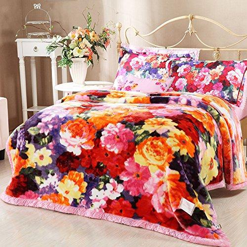BDUK Raschel Decke Haus und Decken Decken Bettwäsche
