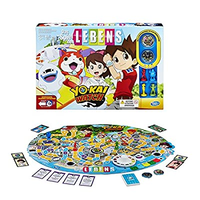 Hasbro Jeux b6493100–Jeu de la Vie y?kai Watch, famille Jeu
