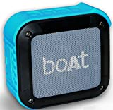 #6: Boat Stone 200 Portable Bluetooth Speakers (Blue)