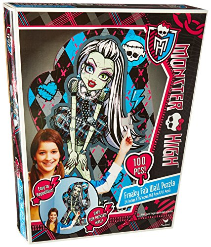 Monster High Toy - 100 Stück Freaky Fab Wand Puzzle in Box - 24 x 36 Zoll Puzzle