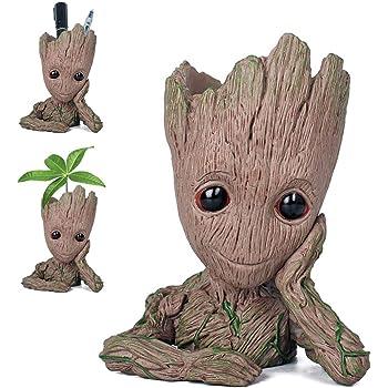 Pawaca Groot Blumentopf Groot Figur Blumentopf