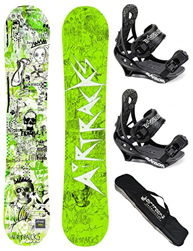 AIRTRACKS SNOWBOARD SET TAVOLA DREAMCATCHER WIDE UOMO 153 - ATTCCHI SAVAGE M - SB SACCA