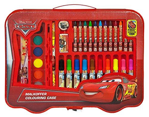 Undercover CAGR7293 Kindergartentasche, Disney Pixar Cars, ca. 21 x 22 x 8 cm Malkoffer, 40 teilig