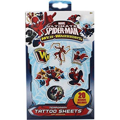 Spider-Man Temporary Tattoos by Marvel
