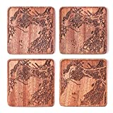 Best unknown Capes - Cape Town Map Coaster, Set Of 4, Sapele Review