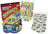 Unbekannt 470 tlg. XL - Set Sticker / Aufkleber - Rennwagen - Quad - Monster Trucks - Kinder Kind klein z.B. für Stickeralbum Stickerblock - für Jungen Autos Truck Quads Fahrzeuge