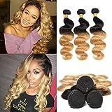 Best Hair Weave Blonde 3 Bundles - Brazilian Body Wave 8a Human Hair Weave 3 Review