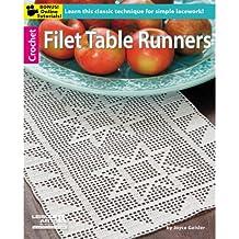 Leisure Arts-Paper Arts-Filet guide da tavolo