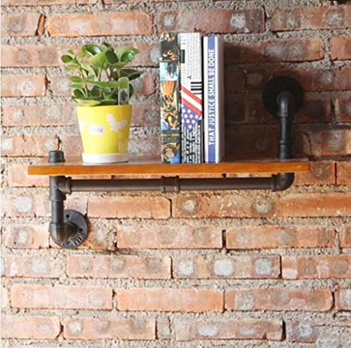 Shelves GBY Wandregale Loft Retro Buch Regale Industrial Water Pipe Regale Wand montiert Display Bücherregal Wanddekoration Wanddekoration Wohnzimmer Wandregale Buch Display Bücherregal